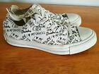 Converse Womens Chuck Taylor All Star I Love My Chucks Sneaker Mens 5 Women 7