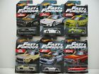 2019 HOT WHEELS FAST  FURIOUS COMPLETE SET OF 6 WALMART EXCLUSIVE IN STOCK