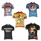 Mens Down Or Up Retro Cycling Jersey