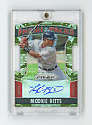 Mookie Betts (Red Sox) AUTOGRAPH 2015 Panini Prizm Fresh Faces (1) Camo #44 99