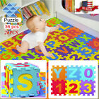 36 Pcs Colorful Alphabet Numbers EVA Floor Play Mat Baby Room ABC Foam Puzzle