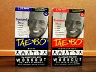 Tae Bo VHS 1998 Workout with Billy Blanks 2 Tape Set BASIC  INSTRUCTIONAL