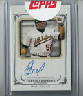 2013 TOPPS MUSEUM COLLECTION YOENIS CESPEDES ON CARD AUTO 284 399!! OAKLAND A'S!