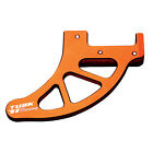 Tusk Billet Rear Disc Brake Guard Orange for KTM 525 SX 4-Stroke 2004-2006