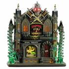 Lemax Spooky Town 2019 DOCTOR PINS & NEEDLES #95443 NRFB Lighted Village Bldg *