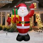 Airblown Inflatable Giant Santa Claus Outdoor Lawn Yard Arches Christmas Decor