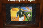 Vintage Sports Plaques Frank Thomas New In Package Wood Plaque With Foil Card