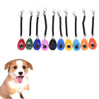 Dog Pet Puppy Cat Training Clicker Obedience Aid Wrist Click Button Trainer MF