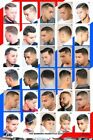 2014HM Barber Shop Poster Already Laminated 24