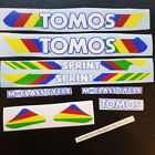 NEW Reproduction Tomos Sprint assorted decals Fruit Stripe A35 50cc Rainbow