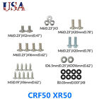 CRF50 XR50  Plastics Body Bolt Kit Screw Set for Fairing Panel Fenders Gas Tank