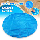 3Meter 10ft Round Hot Tub Spa Blanket Protective Cover Swimming Pool Outdooor