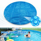 36Meter 12ft Round Hot Tub Spa Blanket Cover Swimming Pool Protective Anti UV
