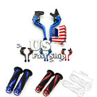 USA For Honda CBR 600 F2,F3,F4,F4i CB599/CB600 HORNET Brake Clutch Levers Grips
