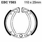 EBC Replacement Organic Brake Shoes and Spring Kit Y503 Keeway F-Act 125 07-11