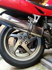 Honda VFR800fi Dressing kit Rear wheel & swing arm Chrome caps & nut covers 2000