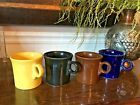 4 -  FIESTA  HLC Coffee Mugs/Cups Tom & Jerry Handles== Excellent Condition
