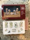Precious Moments Mini Pewter 9 Nine Piece Nativity Miniature Accessory Set Jesus