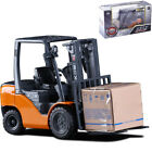 1 20 Scale Alloy Diecast Forklift Truck Metal Engineering Car Model Vehicle Toy
