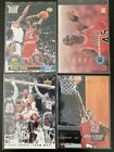 4 Card Michael Jordan Premium & Insert Lot