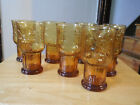 Vintage 70'S Amber Libby Country Garden Daisy 6