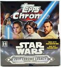 2019 Topps Star Wars Chrome Legacy FACTORY SEALED Hobby 8 Box Case