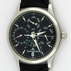 Jaeger LeCoultre Master Perpetual Calendar Moonphase SS 140.8.80.S 37mm SERVICED