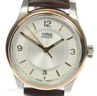 AUTHENTIC ORIS CLASSIC date 01 733 7578 4331-07 5 18 10 SS Men's Watch Used F/S
