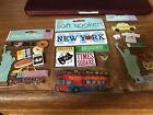 Jolees Boutique New York City Vacation Theme Stickers Scrapbook LOT of 4 NEW