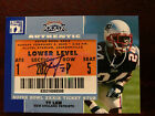 2007 Topps TX Exclusive Super Bowl Ticket Stub Autographs #TL Ty Law