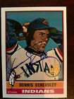 2001 Topps Archives Autographs #TAA149 Dennis Eckersley B2 SP 200