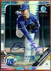 2019 Topps NSCC Bowman Chrome National Convention Cards - Autograph Print Runs 16