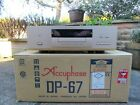 ACCUPHASE DP-67 REFERENCE CD PLAYER * BOXED / MINT * with Remote