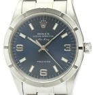 Polished ROLEX Air King A Serial Steel Automatic Mens Watch 14010 BF340630