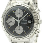 Polished OMEGA Speedmaster Date Steel Automatic Mens Watch 3511.50 BF341841