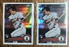 2019 TOPPS CHROME MIKE TROUT GREATEST REPRINT 2011 UPDATE LOT OF 2 NRMT-MT