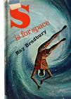 S is For SPACE RAY BRADBURY FIRST EDITION 1ST HC w Dj VINTAGE SCI FI 1966