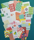 50 Pcs Project Life Journal Cards BRIGHT Edition 4x6  3x4 Scrapbooking