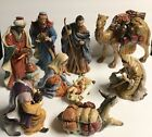 LARGE 10 Piece Kirkland Signature Porcelain Nativity 399707 Set Christmas Decor