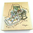 Stamps Happen Inc Places In My Heart Mounted Rubber Stamp D Morgan