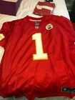 Nike LEON SANDCASTLE Kansas City Chiefs Jersey - Men's XL X-Large - New w Tags
