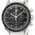 Polished OMEGA Speedmaster Professional Moon Phase Steel Watch 3576.50 BF340138
