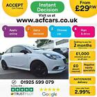 2015 WHITE VAUXHALL CORSA 14 70 LIMITED EDITION PETROL 3DR CAR FINANCE FR 29PW