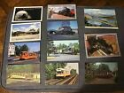 Various Trains  Trolley Postcards Lot of 11