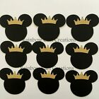 Mickey Mouse Prince Die cut Embellishment Layered Baby Birthday Disney Crown