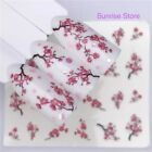 Nail Art Water Transfer Stickers Cherry Blossom Small Flower Decals Manicure