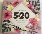 Arashi 5×20 All the BEST!! 1999-2019 JAL Hawaii Limited Original package Rare!!