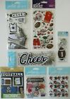 Scrapbooking Stickers Jolees Boutique Lot SPORTS Football Homecoming