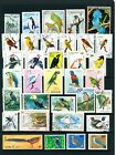 Lovely Bird Stamp Collection Bird Stamps From Different Countries