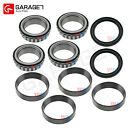 10Pcs Front Wheel Bearing Race Seal Assembly For 1986 2004 Mitsubishi Dodge 4WD